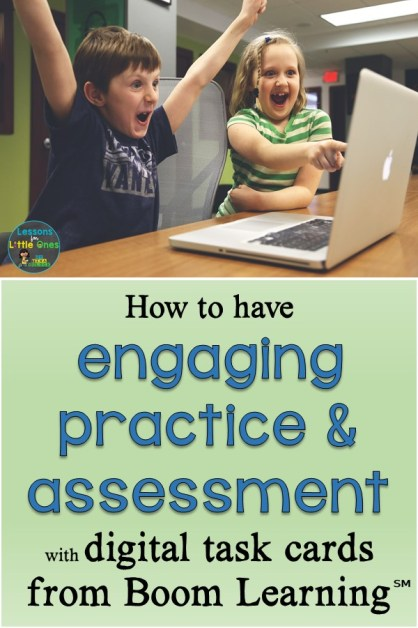 How to have engaging practice & assessment with digital task cards from Boom Learning