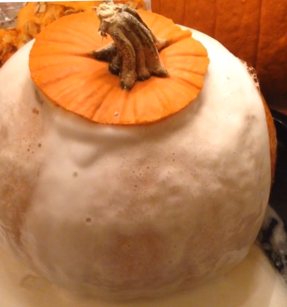 Image result for volcano pumpkin