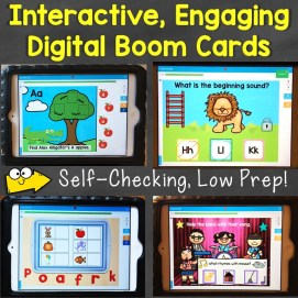 digital resources Boom Cards