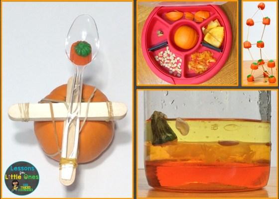 pumpkin science experiments & STEM activities