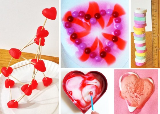 valentine science & STEM
