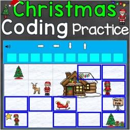 Coding practice Christmas writing code