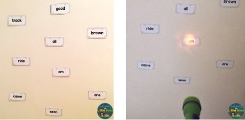 sight words practice ideas