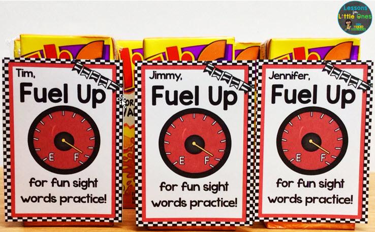 sight words treat idea