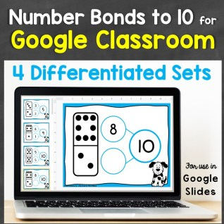 Number Bonds to 10 Google Classroom Google Slides