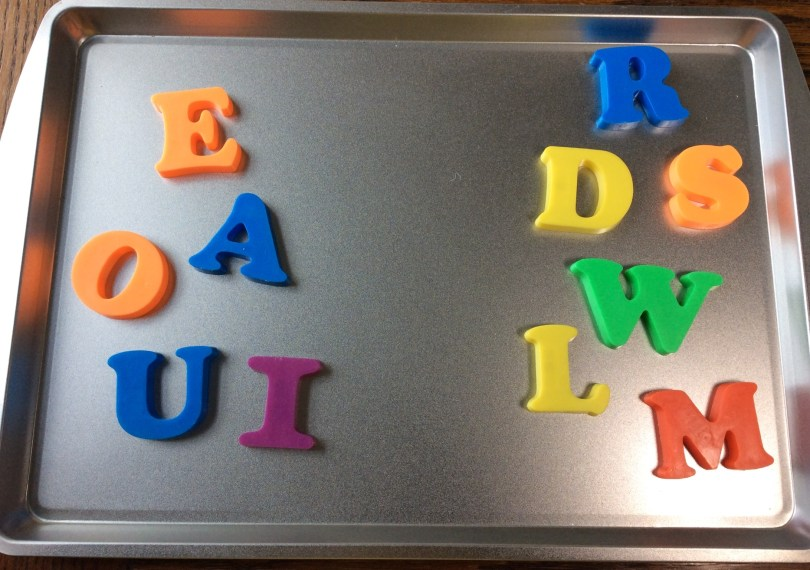 letter sorting activity