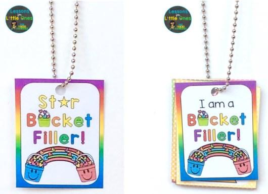 bucket filler reward tags