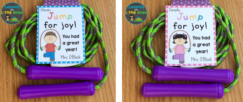 end of the year gift tag for jump rope