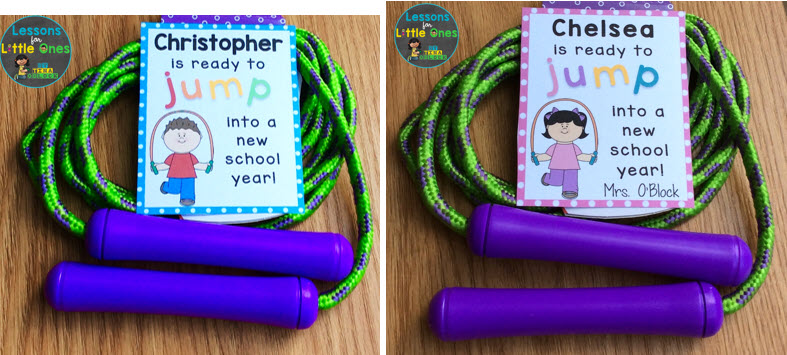jump rope back to school tags