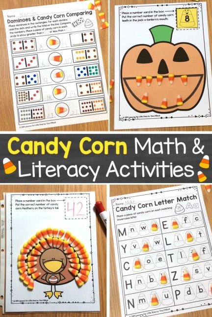 Candy Corn Math and Literacy Activities
