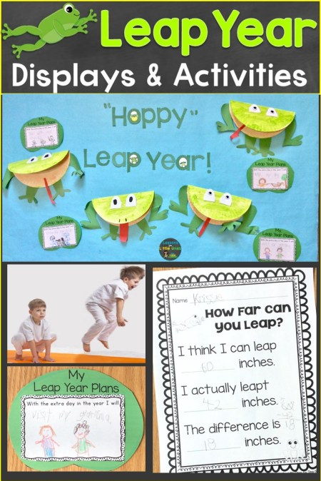 leap year activities & bulletin board