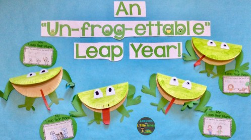 leap year bulletin board display