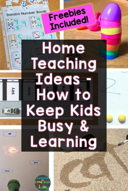 Home Teaching Ideas