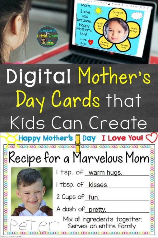 Digital Mother's Day Cards That Kids Can Create