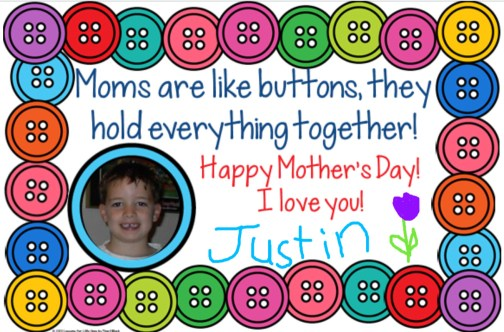 Mother's Day Cards for Distance Learning using Seesaw