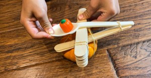 pumpkin catapult STEM activity