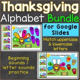 Thanksgiving Alphabet Letters Letter Sounds Beginning Sounds Google