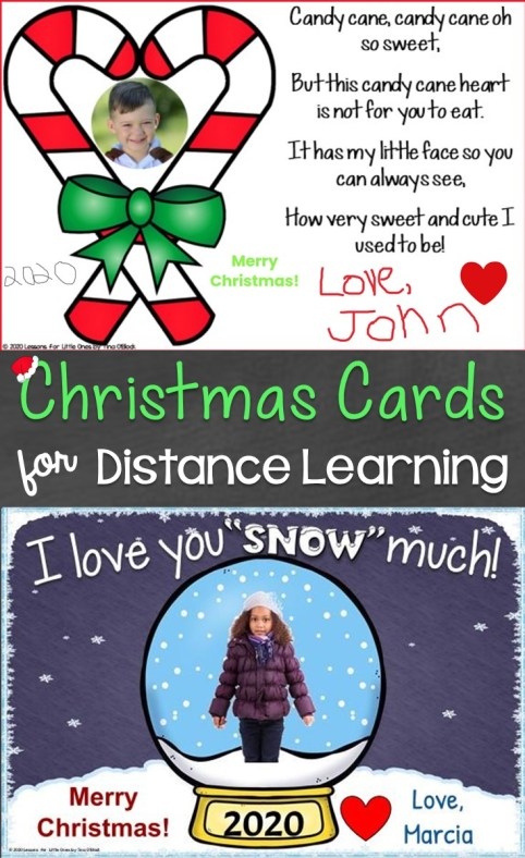 Christmas Cards for Distance Learning