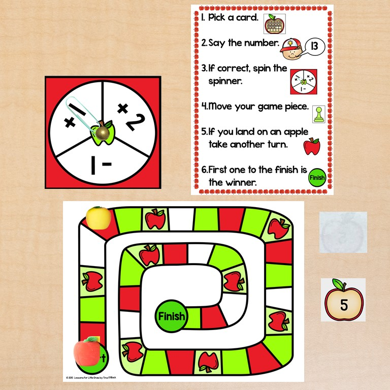 apple math game