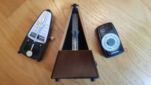 3 sortes de métronomes