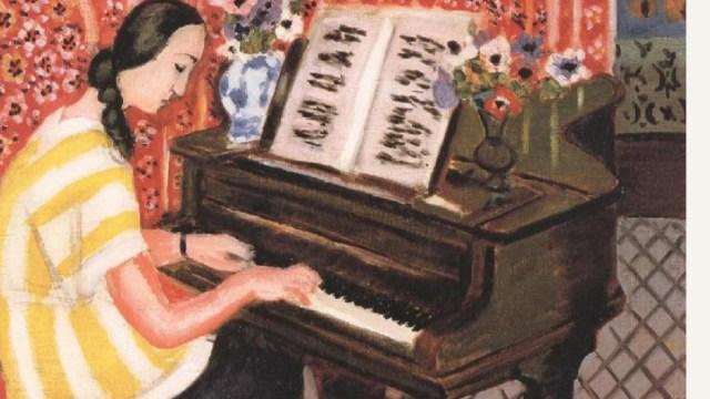 Les vacances pour jouer du piano tranquillement à son rythme