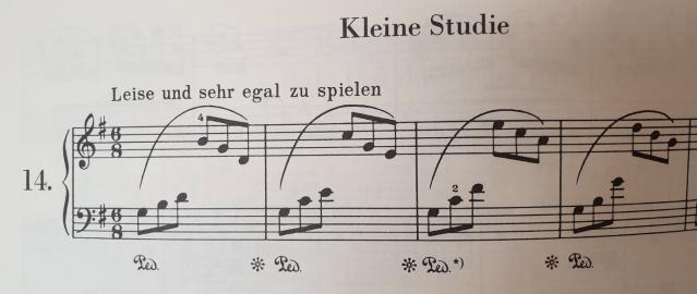 Les symboles de la pédales au piano