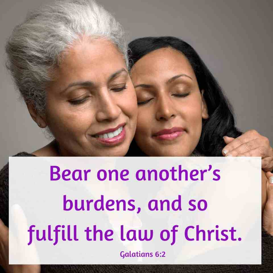 Bible verses about caring for others