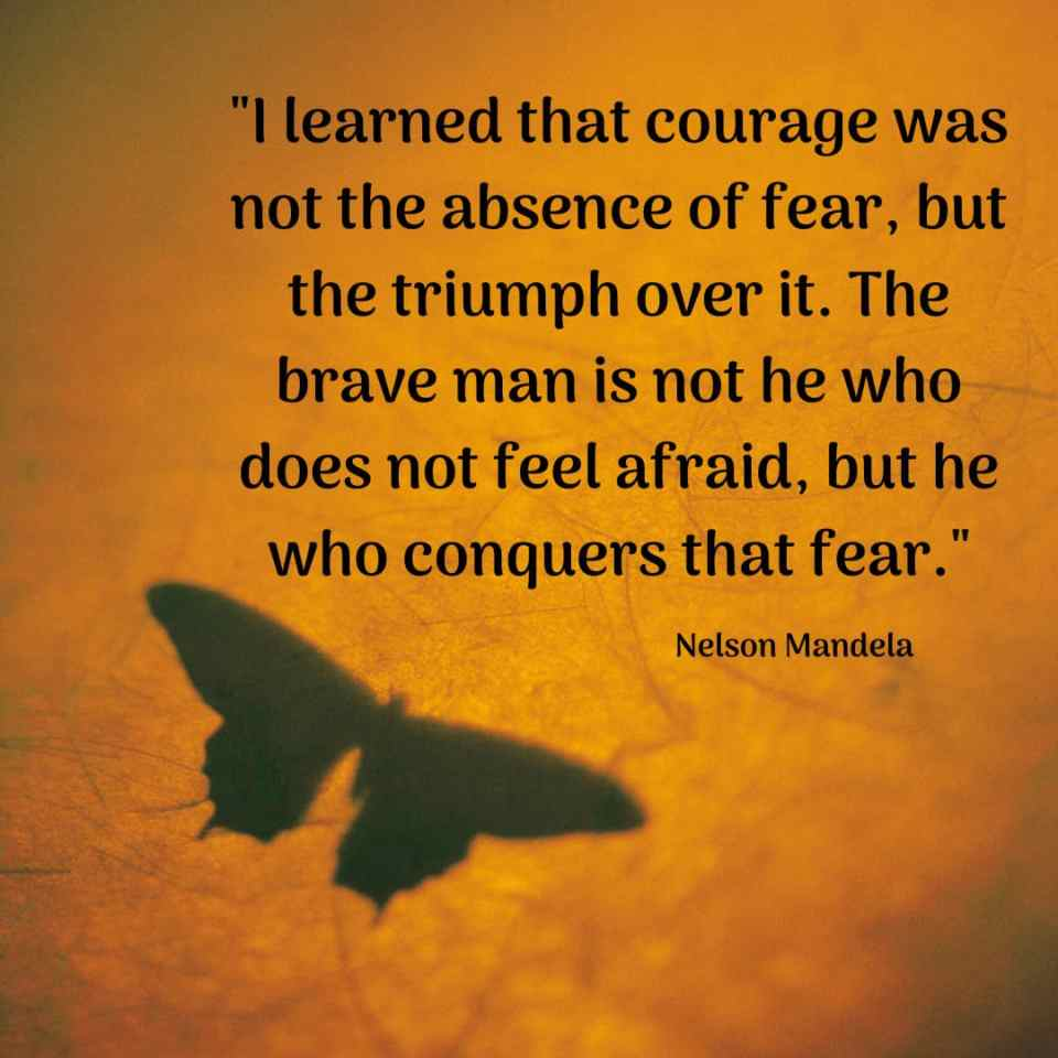 quotes about courage and fear