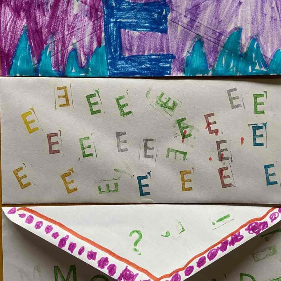 preschool activities for the letter e