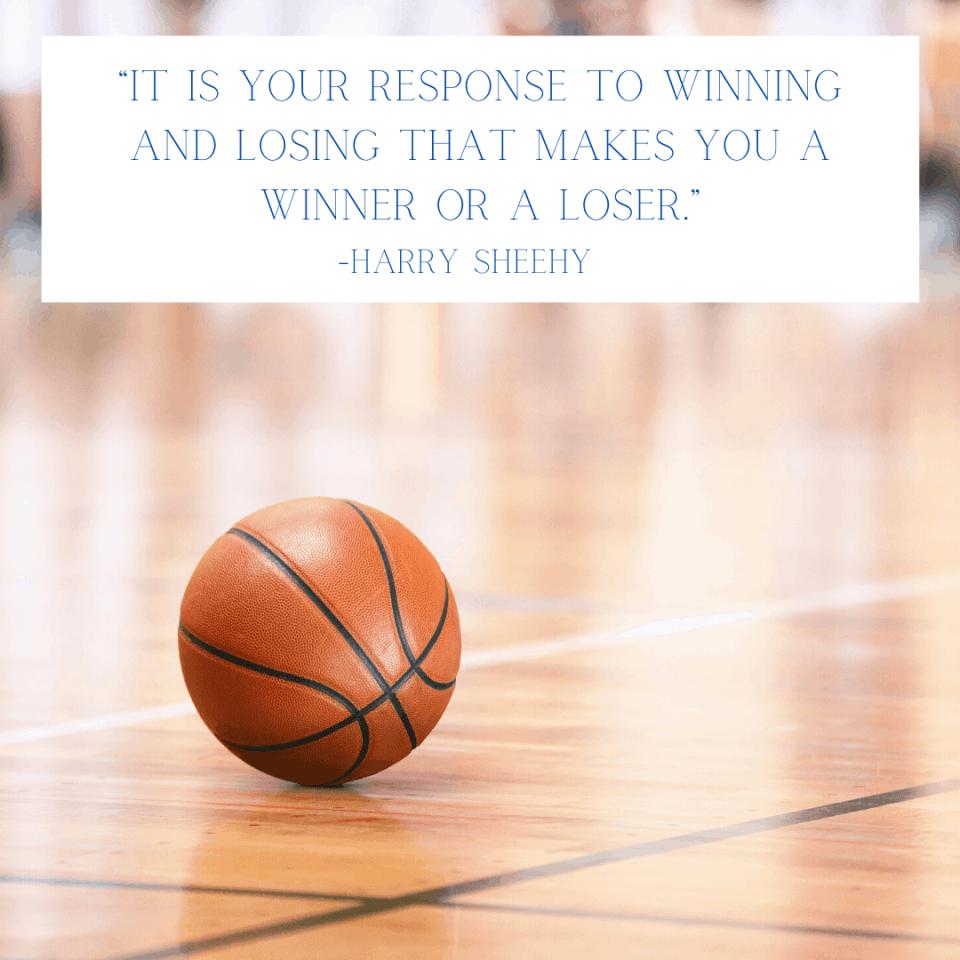 Sportsmanship is important