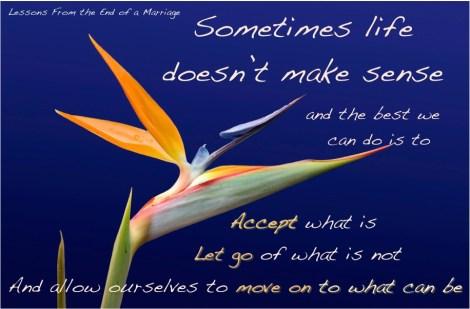 life doesn't make sense