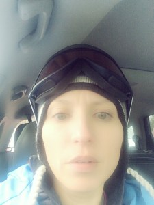 Ski goggles! At least I look the part:)
