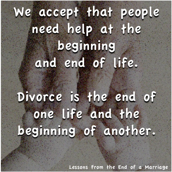 accept help divorce