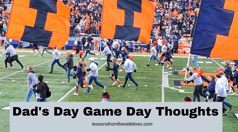 dads day game thoughts