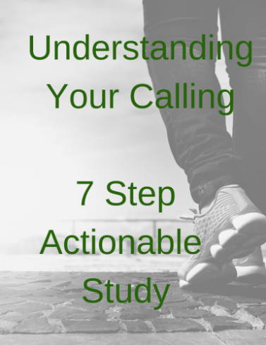 Understanding Your Calling 7 Step Actionable Plan download appendix for Lessons from the Sidelines by Beth Walker