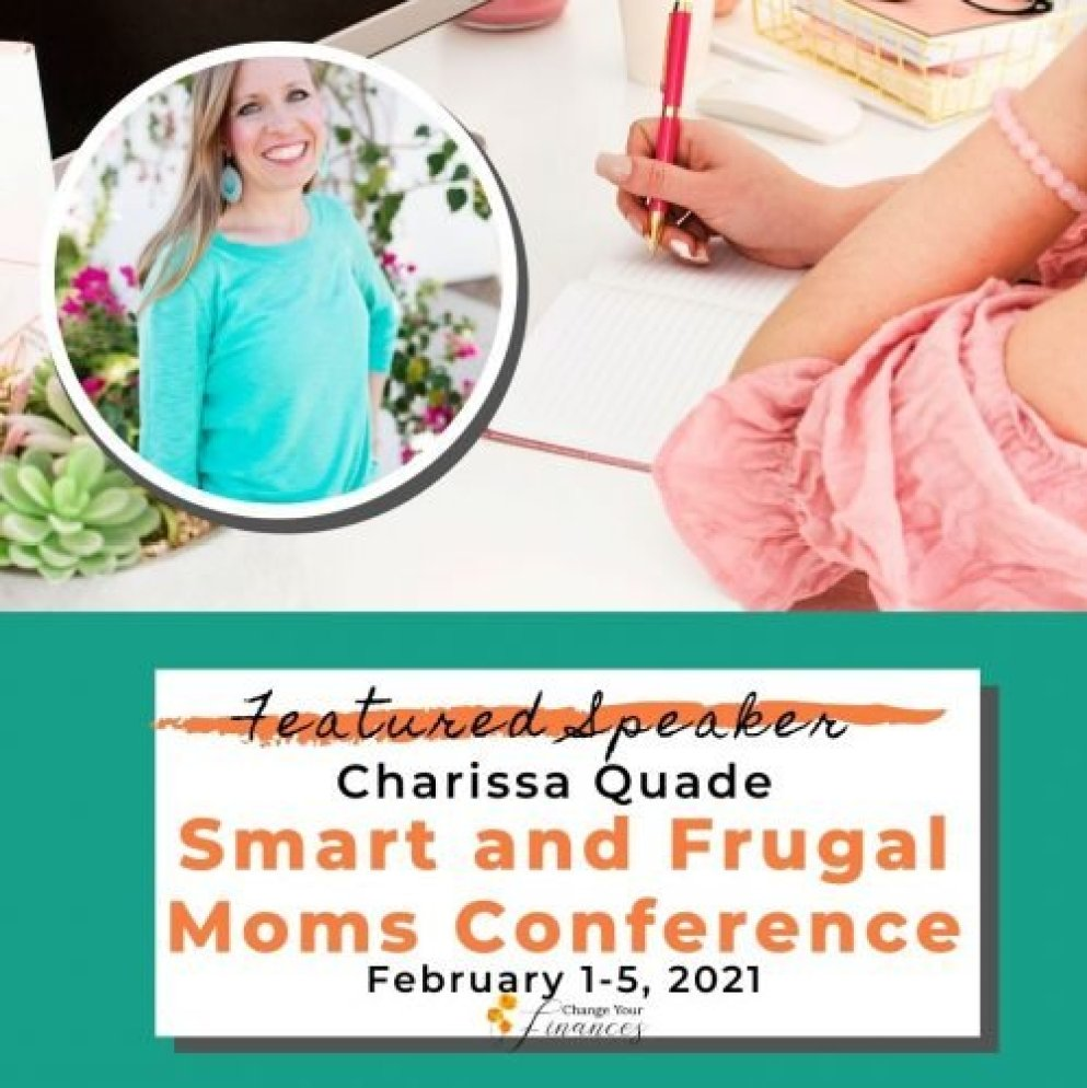 Charissa Quade Smart and Frugal Moms Conference