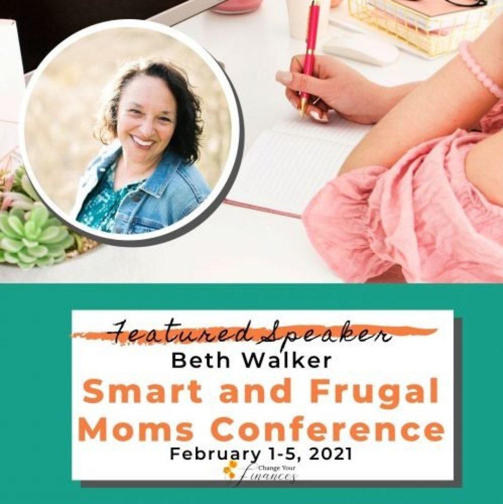 Beth Walker Smart and Frugal Moms Conference