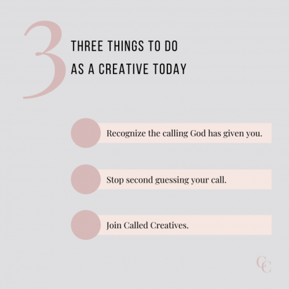 3 Things to do as a Creative Today