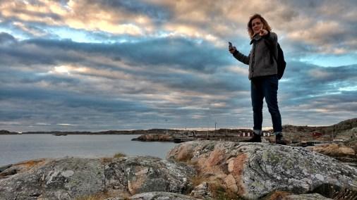 Amanda Mustard goes to Brännö.
