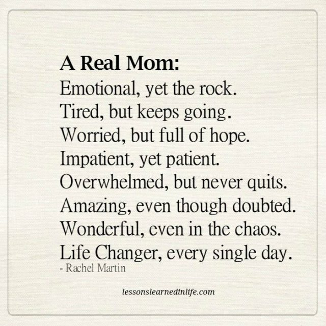 Lessons Learned In Life  A Real Mom