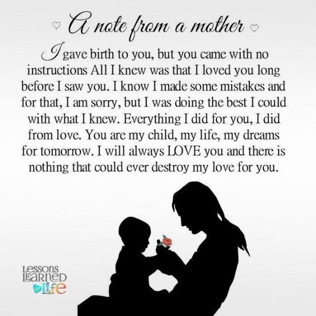 Lessons Learned In LifeTo My Child Lessons Learned In Life