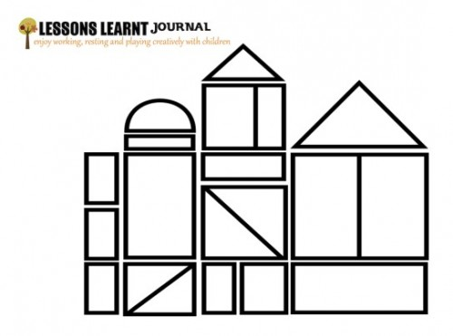 Town Colouring Page