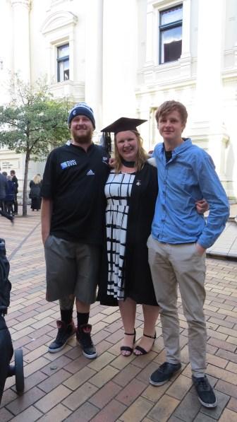 Jonathan, Christina, Bradley