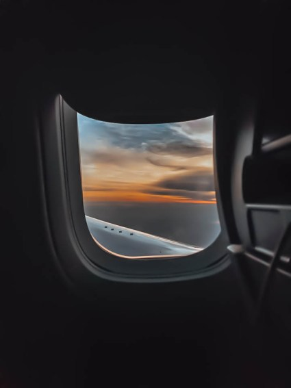 red-eye international flight