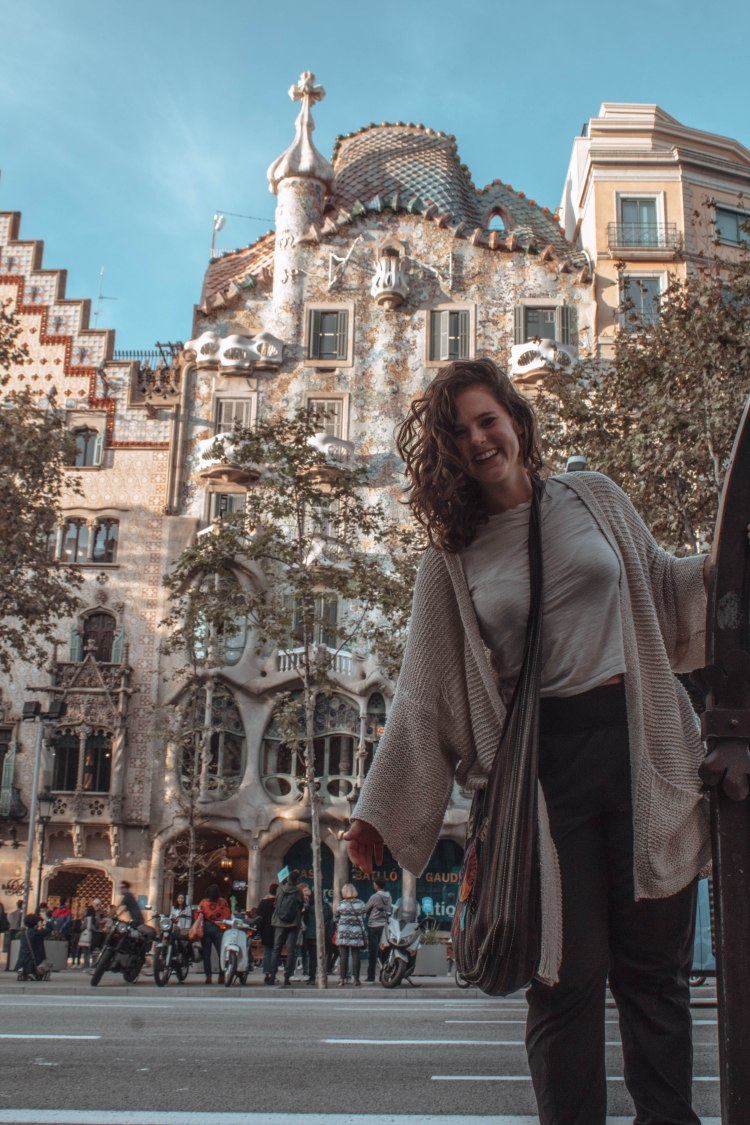 traveling as a female in Barcelona, Spain