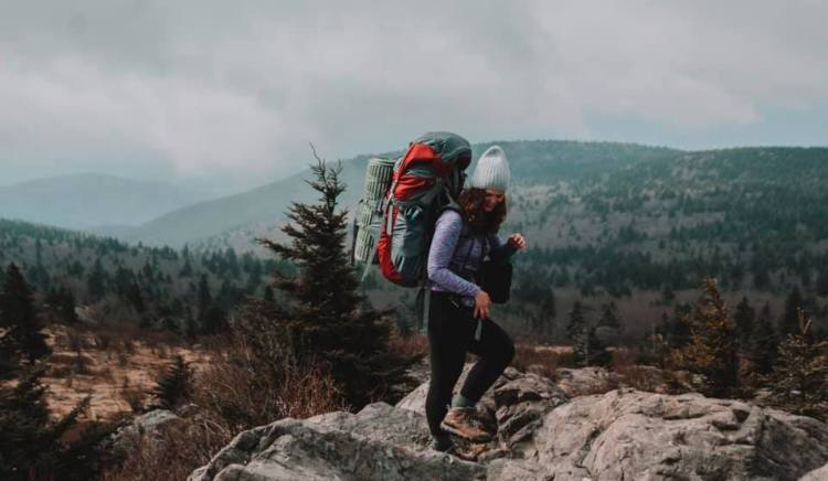 backpacking Grayson Highlands in the Spring, lessormorgan