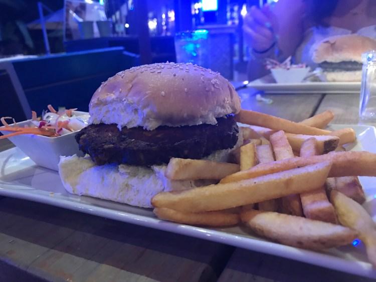 vegetarian burger - TOF