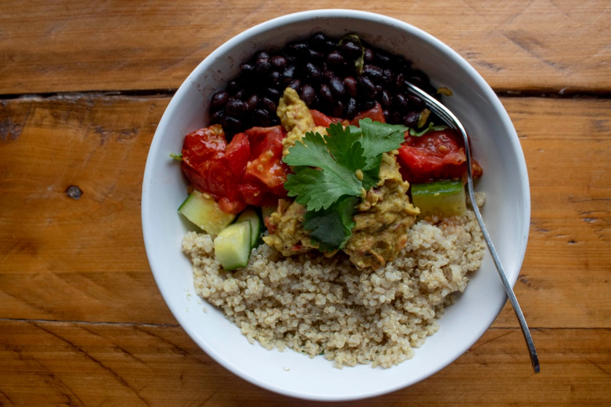 Vegan Taco Bowl- Best coffee shops in Tampa Florida