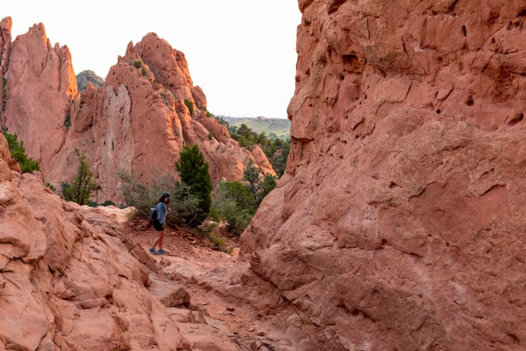 Visiting Garden of the Gods at Sunrise Summer 2020