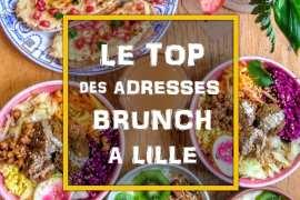 Le Top des adresses de brunch à Lille